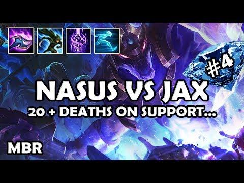 WorldBreaker Nasus Vs Jax | UnWinnable | Road To Diamond #4