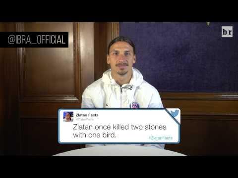Soccer Legend Zlatan Ibrahimovic Reads His Favorite 'Zlatan Facts'