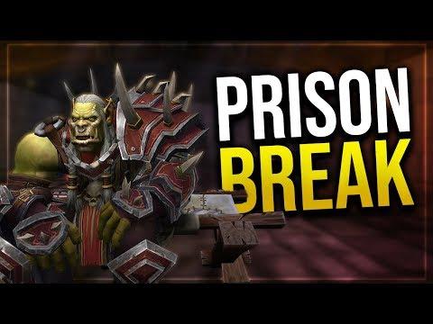 Horde Intro Scenario - Escaping The Stockade   Cinematic Video   Battle for Azeroth!