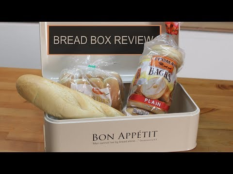 Cool Kitchen Bread Box | Product Review 10