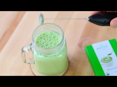 How to Make Encha Matcha Latte in Office