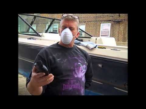Very effective method on how to REMOVE HEAVY OXIDATION from a boat.
