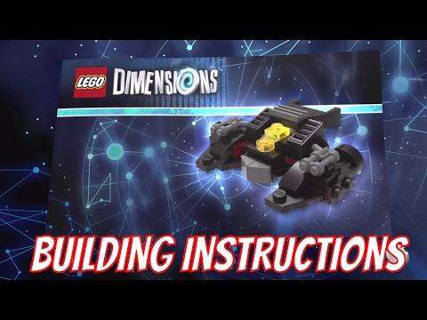 LEGO Dimensions - Batwing Building Instructions (LEGO Batman Movie Story Pack)