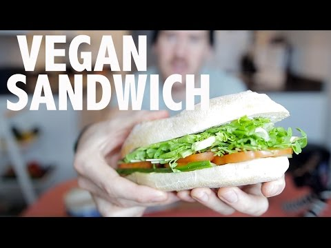 Simple Vegan Sandwich | How To