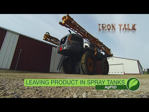 Iron Talk #1049 Leaving Product In Spray Tanks (Air Date 5-13-18)