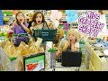 KIDS GROCERY SHOPPING CHALLENGE NO BUDGET