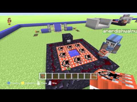Minecraft Xbox 360 Edition: How To Build Fly Me to the Moon/Firework Simulator