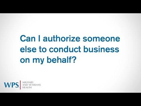TRICARE4u FAQs - Authorization to Advocate