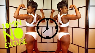 10 Minute home fat loss body toning workout | No Gym needed | pre-recorded