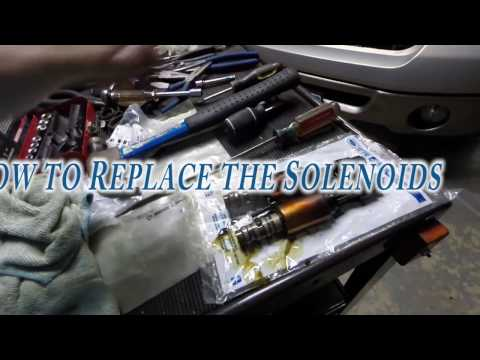 2006 Ford F 150 Lariat 5 4 How to Replace thel Solenoids
