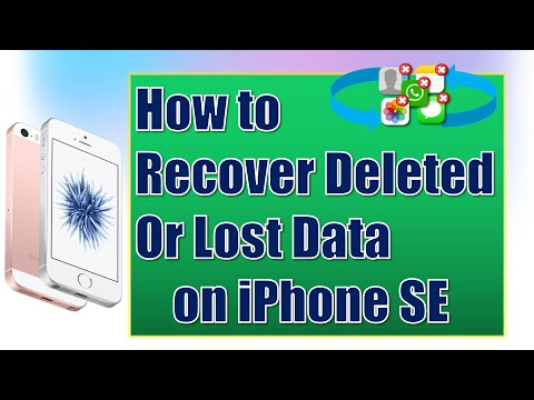 How to Recover Deleted Text Messages, Contacts, Photos, WhatsApp, Notes on iPhone SE