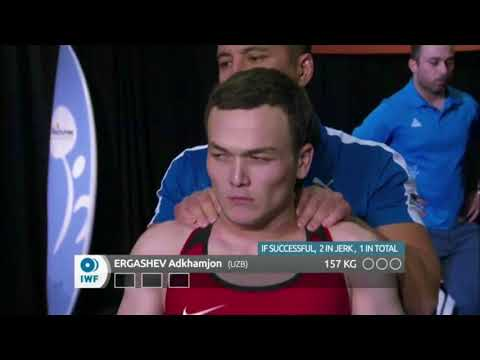 Men's 62 kg A Session Clean and Jerk - 2017 IWF Weightlifting World Championships (WWC)