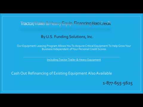 Dump Truck Financing Bad Credit