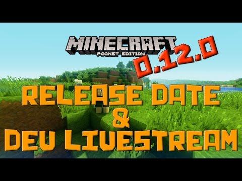 RELEASE DATE and Dev Livestrem - Minecraft Pocket Edition Update News