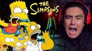 THE SIMPSONS SAID MY BOOTY CHEEKS ARE ON THE MENU | The Simpsons Horror Game