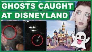 Ghosts That Haunt Rides At Disneyland (With Footage)