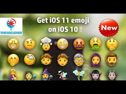 Get ios 11 emojis right now!!(no jailbreak)