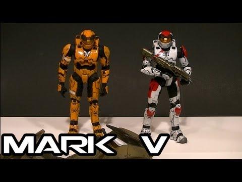 McFarlane HALO 3 MARK V ARMOR Comparative Figure Review