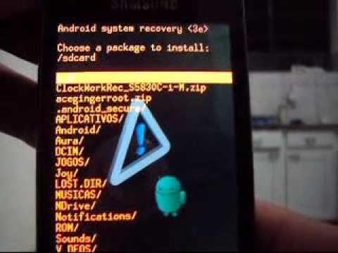 Tutorial - Como fazer ROOT no Galaxy Ace GT-S5830C