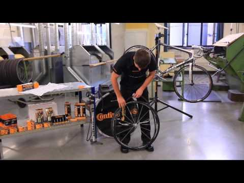 Continental - Road bike Mounting beaded-edge or folding tires