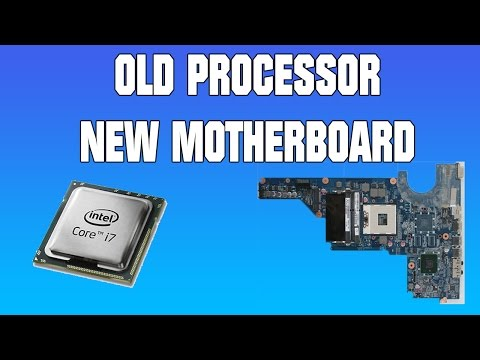OLD LAPTOP PROCESSOR IN NEW MOTHERBOARD HP Pavilion G6