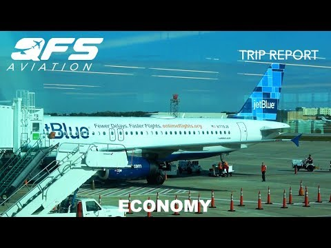 TRIP REPORT   JetBlue Airways - A320 - Sarasota (SRQ) to New York (JFK)   Economy