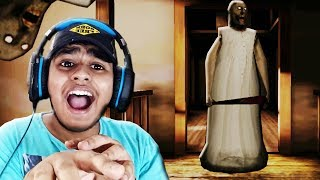 THE END (I ESCAPED THIS AUNTY) !! | Granny Horror Game #3