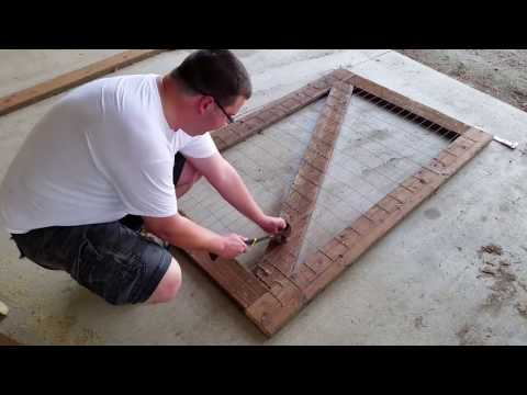 Building a Garden Gate Part 1