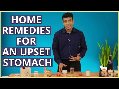 3 Natural Home Remedies To CURE AN UPSET STOMACH