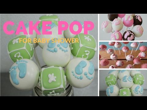 Baby Shower Cake Pops Ideas