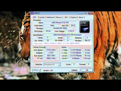 CPU-Z - Detailed PC System Information -  Hardware Specs [Tutorial]