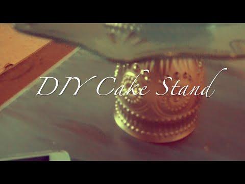 DIY Cake Stand | DIY by Fran