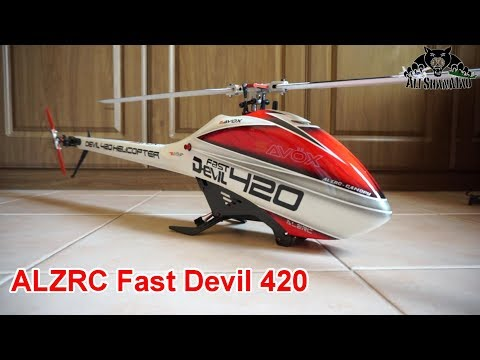ALZRC Fast Devil 420 RC 3D Helicopter Time-lapse build