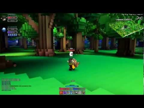 cube world quick demo killing orange +3 mobs