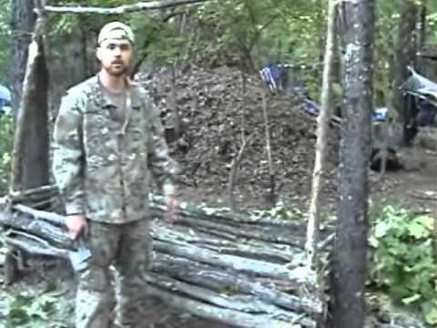Survival shelter jungle hooch