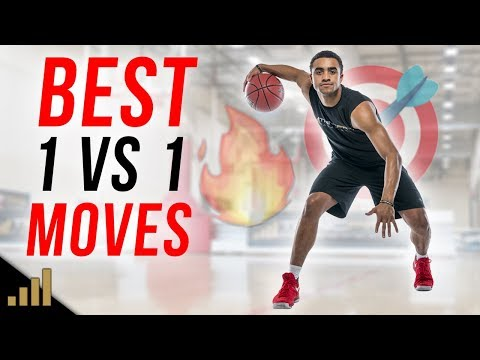BEST 1 ON 1 BASKETBALL MOVES TO BREAK ANKLES!!! The Stutter Step Crossover Move