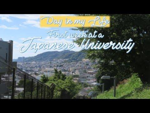VLOG// First Week at a Japanese University