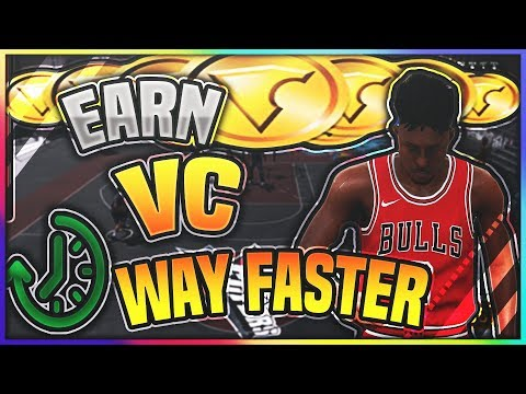 HOW TO EARN WAY MORE VC  IN NBA2K18 | GET LOADS OF VC IN MINUTES!!!