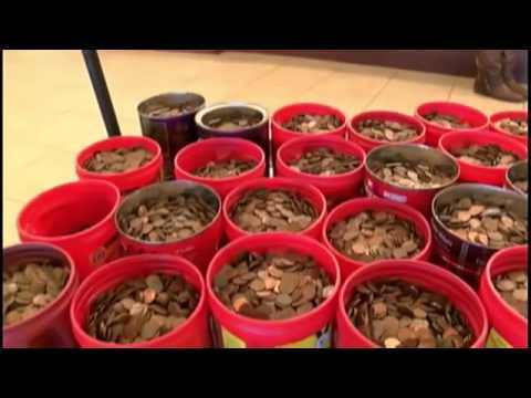 Cashing in Canned Pennies