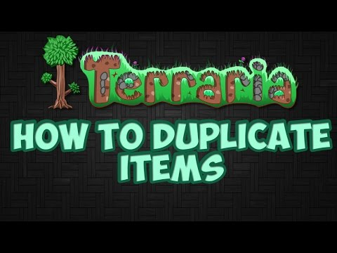 Terraria 1.3.5.3 - Easy Duplication Glitch! - Duplicate Any Item In The Game!