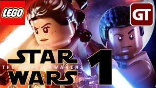 LEGO Star Wars 7: Das Erwachen der Macht - Gameplay #1 - Let's Play Star Wars 7 - Deutsch
