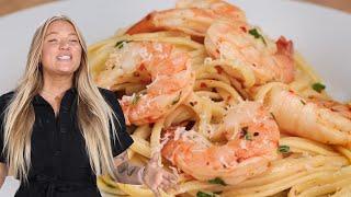 How To Make Alix's 3-Course Shrimp Scampi Dinner • Tasty