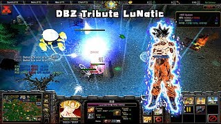 Warcraft 3 Dragon ball DBZ Tribute LuNaTic #1 Black goku