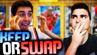 AMAZING DIAMOND KEEP OR SWAP WITH LOSTNUNBOUND! NBA 2K16