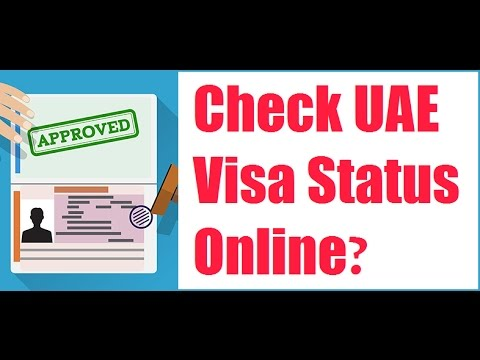 How To Check UAE Visa Status Online 2018?