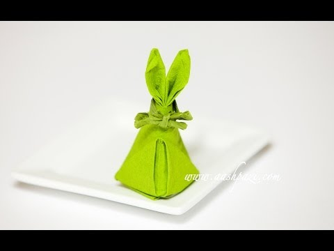 Easter Bunny Napkin (Napkin Design)