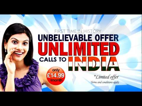 UNLIMITED CALLS TO INDIA