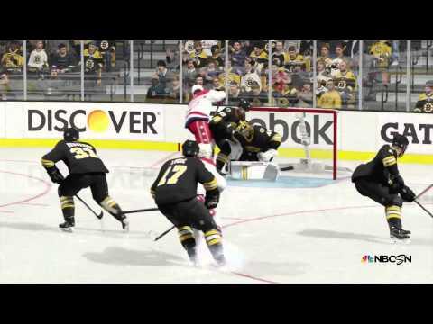 Boston Bruins vs Washington Capitals NHL 15 OT Win Xbox One
