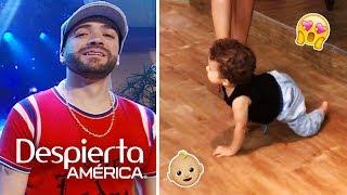 El bebé de Nacho le robó el show a su papá y nos derritió de ternura