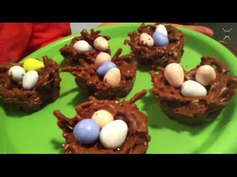 Birds Nest Easter Snack!